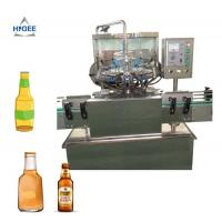 Buy cheap Glass Bottle Small Beer Bottling Machine / Small Scale Beer Bottling Equipment from wholesalers