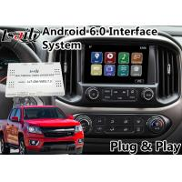 Buy cheap Android 6.0 Multimedia Video Interface for Chevrolet Colorado / Impala MyLink System 2015-2018 , GPS Navigation product