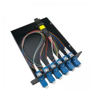 China 12 Core MPO MTP Ber Optic Cassette Module Single Mode For 19 1U Distribution Box on sale