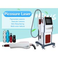Buy cheap 755nm 1064nm Picosecond Nd Yag Laser Tattoo Pigmentation Removal Machine for Salon from wholesalers