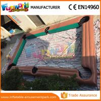 Small Inflatable Sports Games Inflatable Football Pitch With CE / UL Blower
