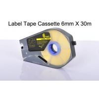 Buy cheap cable label printer label tape cassette waterproof chemicals Resistant product