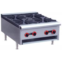 Buy cheap Commercial Restaurant Cooking Equipment Table Top Gas Stove With 1 / 2 / 4 / 6 Burners product