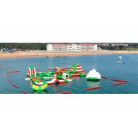 Buy cheap Customized Kids Giant Inflatable Water Park for Sea / Lake / Ocean product
