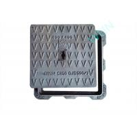Buy cheap SGS Ductile Iron Manhole Cover Smooth Surface For Industry / Construction product