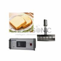Easy Operate Ultrasonic Pies Cake Cutting Machine With Titanium Blade Material