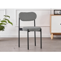 Buy cheap No Folded Iron 43*43*79CM Ergonomic Dining Room Chairs from wholesalers