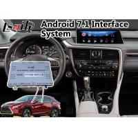 Buy cheap Android 7.1 Navigation Interface System for 2015-2018 Lexus RX 350 with Mouse Control 12.3 Inch Screen product
