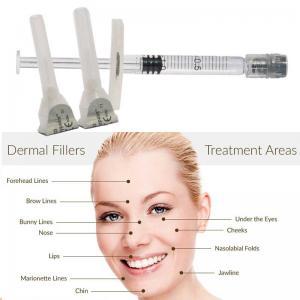 China 2ml fine& derm wrinkle reducing filler injectable HA gel, Anti wrinkle HA filler Cross linked Hyaluronic acid gel on sale