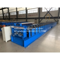Metal Wall Panel / Floor Metal Deck Roll Forming Machine