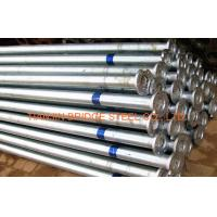 Buy cheap Zinc Coated Galvanized Steel Pipe For Air Vapor , 400mm 300mm GB/T3091 product
