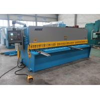 Buy cheap EU Streamlined Design Iron Hydraulic Shearing Machine Multi - Edge Blades 25mm 3.2m from wholesalers