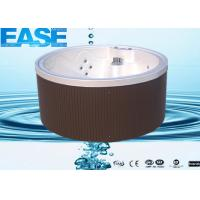 Buy cheap Aristech Acryilic Round Outdoor Bathtubs with 5 Seats and Balboa Control System product