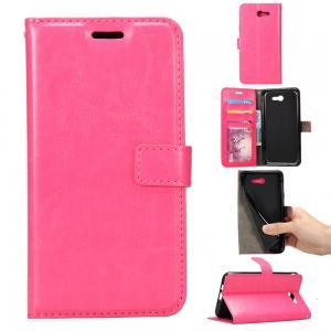 Wallet Stand Samsung J5 Leather Case , Dirt Proof Samsung J5 Flip Cover