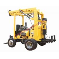 Buy cheap XYX-3 Trailer Mounted Hydraulic Tower 600m Water Well Core Drilling Machine from wholesalers