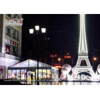 Buy cheap Self - Cleaning 10x10 Meter Marquee Tent For Show Room / Garden Party Tent from wholesalers