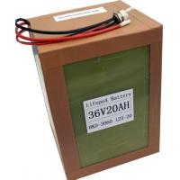 Buy cheap A123 Battery pack 36v20ah-12S1P for electric vehicle from wholesalers