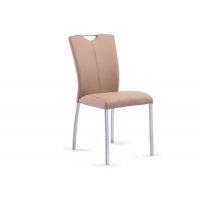 Buy cheap Sprayed On Steel Leg With Rust Protective Coating 270 Pounds Modern Metal Dining Chairs product