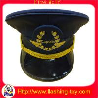 Buy cheap Polyster Captain Cap / Hats With customized Embroidery or Led Shining Logo HL-B5123 product