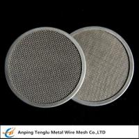 Buy cheap Stainless Steel Filter Disc|Materials SUS302/304/316 with Single or Multiple Layers product