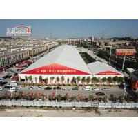 Buy cheap High 12000 sqm Industrial Storage exhibition Tents Aluminum Frame With PVC from wholesalers