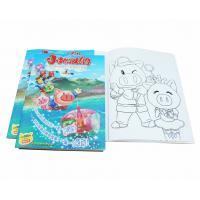 Buy cheap A4 Size Coloring Books For Kids Clothing Business Developement , Toddler Coloring Book product