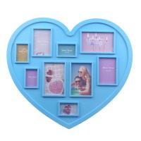 China Hot sales Valentine's day Gift!! Heart Shape Plastic Photo Frame Girl Photo Frame. on sale
