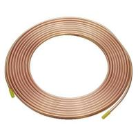China Refrigeration Copper Tube, Pancake Coil Copper Pipe with good plasticity for show case on sale