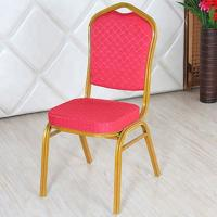 Buy cheap Stackable Velvet Upholstered Dining Chairs Space Saving With Stable Structure product