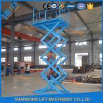 Buy cheap 1.5T 3.8M Stationary Hydraulic Scissor Lift , Scissor Lifting Equipment SGS TUV product