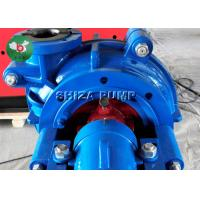 China Large Capacity Rubber Lined Slurry Pumps , Sand Acid Handling Pump With Engine on sale