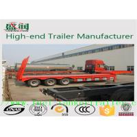 China Heavy Duty Truck Howo 30 ton Low Flatbed Semi Trailer Truck  30T - 60T on sale