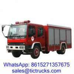 Buy cheap ISUZU 6000L 240HP Fire Truck 4 x 2 ISUZU for sale product