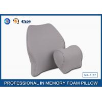 Buy cheap Soft Memory Foam Car Travel Pillow Filling Breathable with Deluxe Pillowcase product