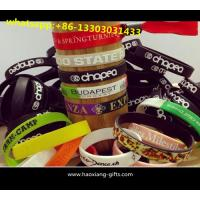 Buy cheap Cheap Custom Silicone Bracelets Basketball Player bracelet Sport Silicone Wristbands from wholesalers