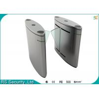 Buy cheap Automatic Turnstile Security Systems , Retractable Flap Turnstile Door product