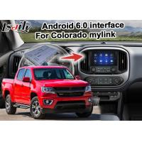 Buy cheap Durable GPS Navigation Box Video Interface / Chevrolet Colorado Mirror Link Navigation product