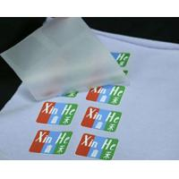China Cold/Hot Peel Matte/Glossy Heat Transfer Printing Film with Screen Printing Labels for Textiles and Garments on sale