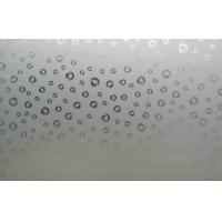 China High Strength Tempered Frosted Glass , Flat Acid Etched Glass Sheet on sale