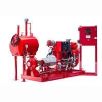 Buy cheap UL FM Approved Diesel Engine Driven Fire Pump , Diesel Fire Fighting Water Pump 200GPM product