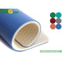 Gem Stone Style PVC Vinyl Floor Covering For Badminton Court 1.2mm - 1.5 Mm Wear Layer