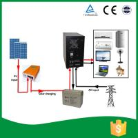 Buy cheap All In One Home Solar Power System , Solar Power Converter With AGM Battery product