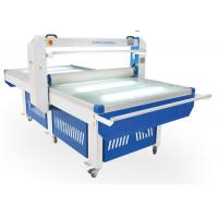 Buy cheap Large Format Manual Hot Lamination Machine , Double Sided Cold Flatbed Lamination Machine product
