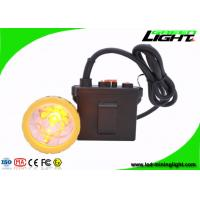 Buy cheap 11.2Ah Rechargeable Safety Mining Cap Lights , Brightest 50000lux Hunting Lamp , Waterproof IP67 product