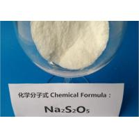 China Dechlorination Agent Sodium Metabisulfite Food Grade For Otton Printing / Dyeing Industry fr china on sale