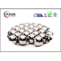 Buy cheap Silver AISI 52100 Round Steel Balls With Diameter 2.778mm For Ball Bearings from wholesalers