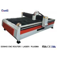 Buy cheap Heavy Duty Structure CNC Plasma Cutting Machine With Chuangwei Stepper Motor product