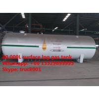 factory direct sale best price 80,000L bulk lpg gas storage tank for sale, 80  cubic meters propane gas storage tank