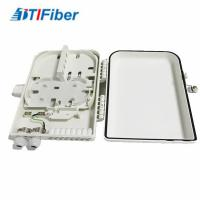 China 16 Ports FTTH Optical Fiber Distribution Box LC/SC Connectors Light Weight Wall Mounted on sale