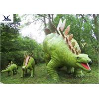 Buy cheap Jurassic Park Outdoor Resin Animal Statues, Artificial Robotic Moving Dinosaur Sculpture Park product
